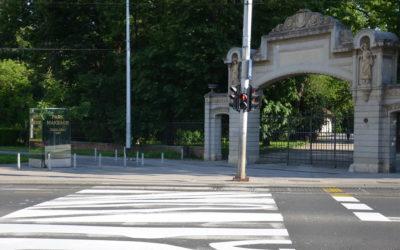 Na Maksimirskoj cesti ponovo zebrine pruge