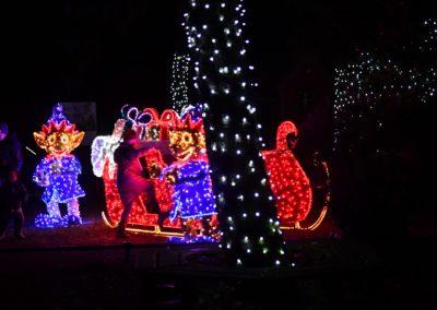 Djeca-su-pohrlila-u-svjetlece-saonice-Polarni-advent-u-Zoo