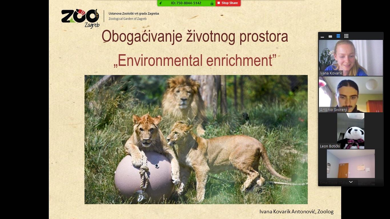 Važnosti obogaćivanja životnog prostora životinja u zoološkim vrtovima