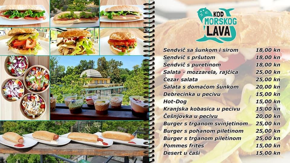 Ponovo Je Otvoren Restoran Kod Morskog Lava Zoo Zagreb