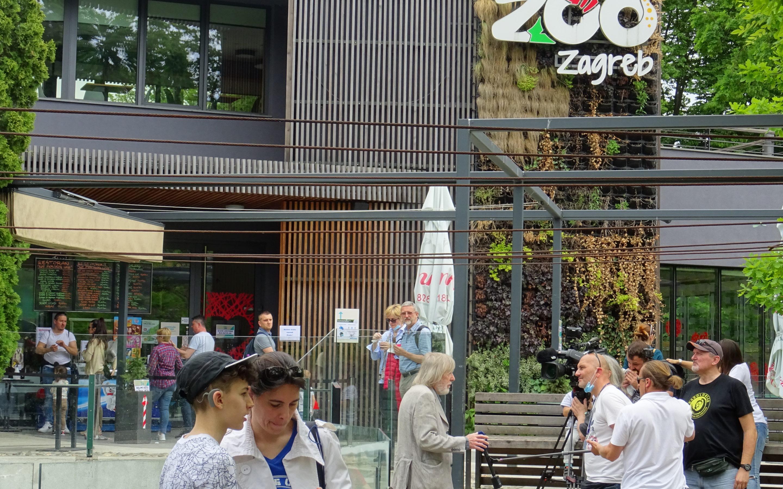 Dnevnik 2 HRT-a o Smogovcima u Zoološkom vrtu grada Zagreba 10. 5. 2020.