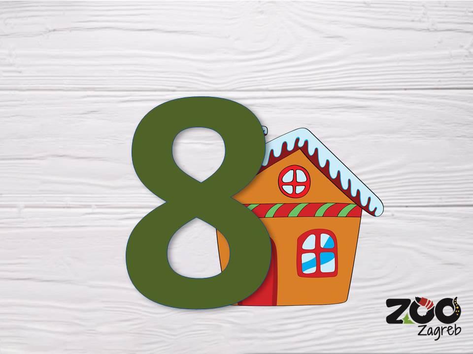 Zoo adventski kalendar: Lavovi i kutija sa slamom