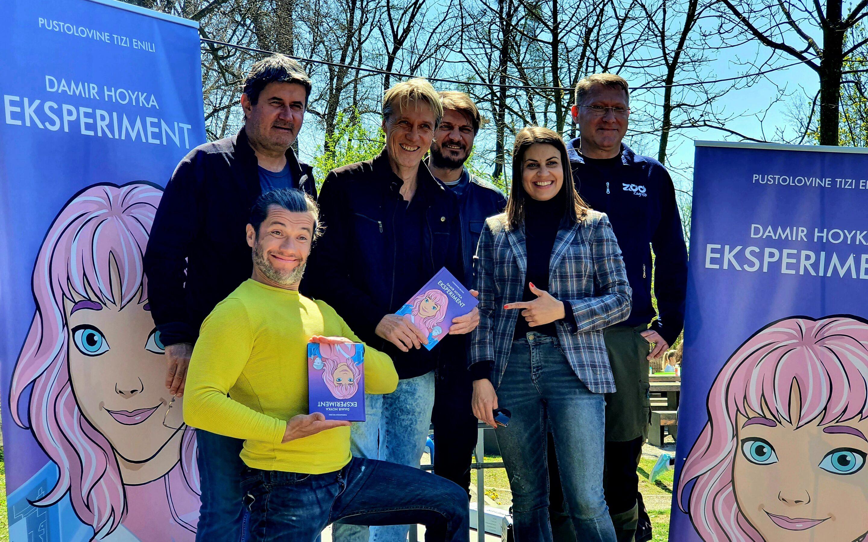 Zekanje u Zoo vrtu – Hoyka predstavio svoj prvi roman za djecu